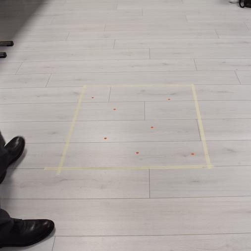 in 70 centimetri quadrati sono state trovate 7 radiazioni